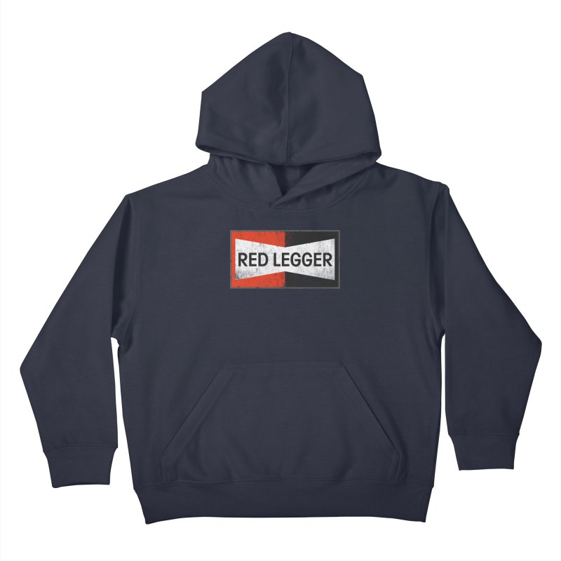 Red Legger Champion Kids Pullover Hoody by redleggerstudio's Shop