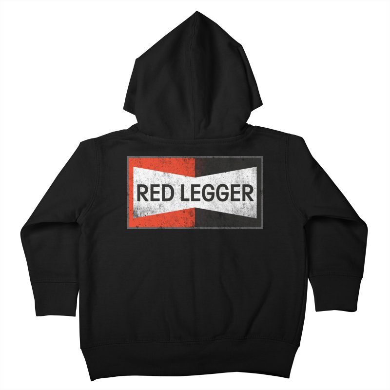 Red Legger Champion Kids Toddler Zip-Up Hoody by redleggerstudio's Shop
