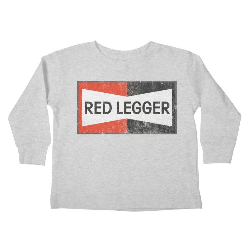 Red Legger Champion Kids Toddler Longsleeve T-Shirt by redleggerstudio's Shop