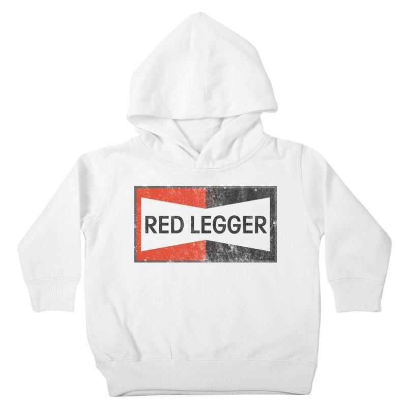 Red Legger Champion Kids Toddler Pullover Hoody by redleggerstudio's Shop