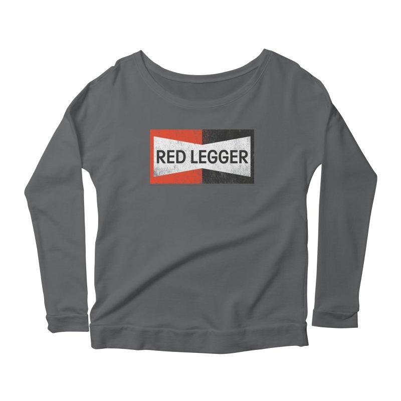 Red Legger Champion Women's Longsleeve T-Shirt by redleggerstudio's Shop