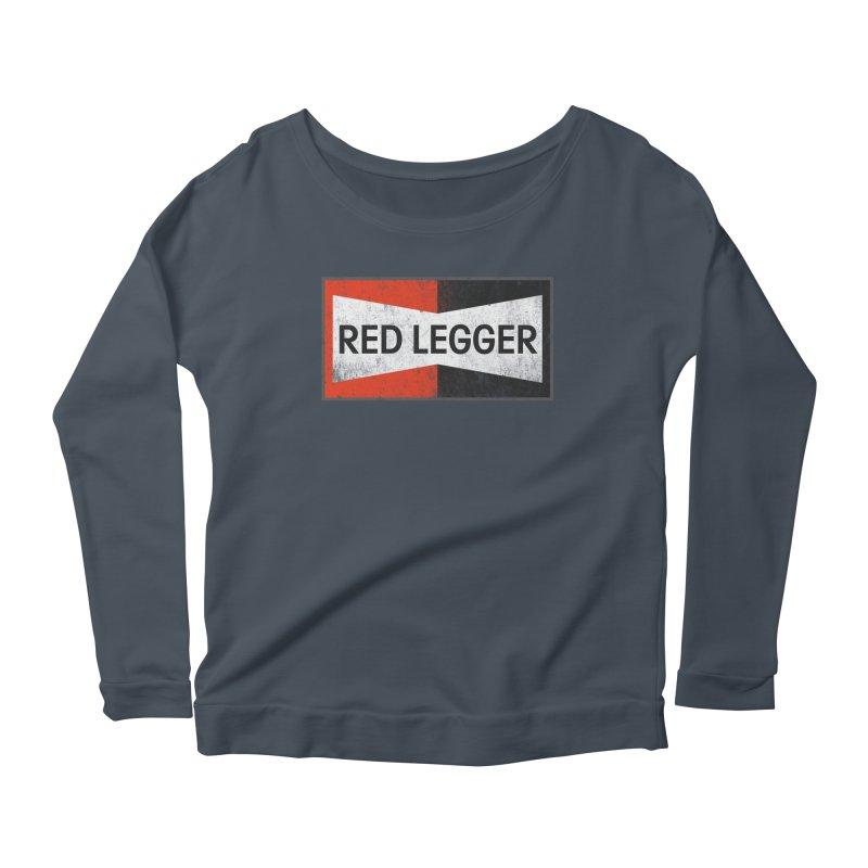 Red Legger Champion Women's Scoop Neck Longsleeve T-Shirt by redleggerstudio's Shop
