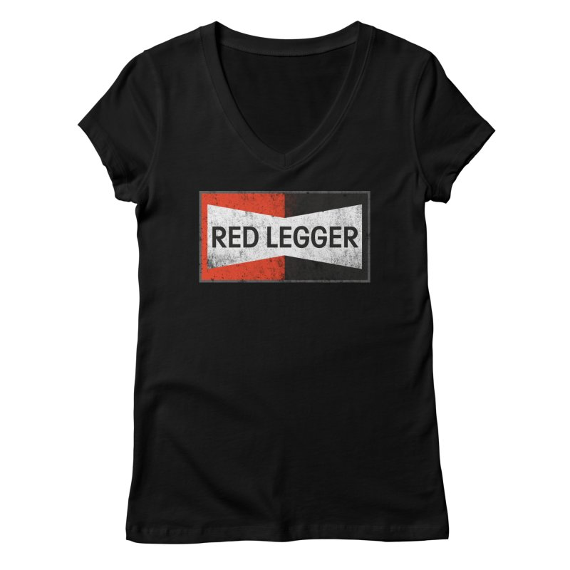 Red Legger Champion Women's Regular V-Neck by redleggerstudio's Shop