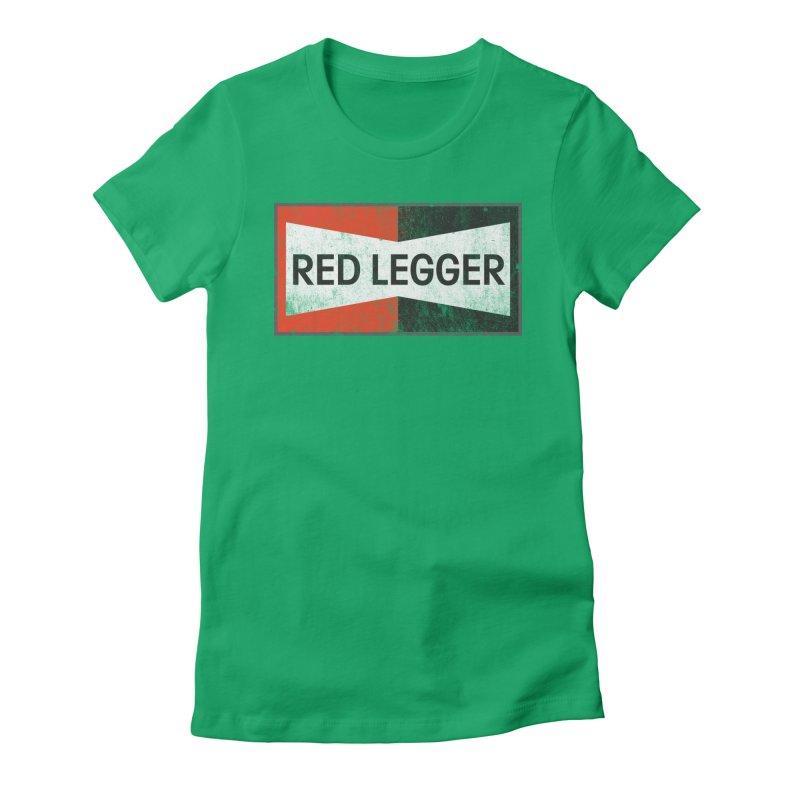 Red Legger Champion Women's Fitted T-Shirt by redleggerstudio's Shop