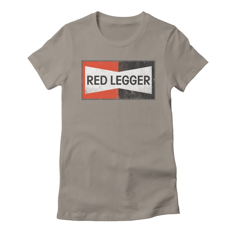 Red Legger Champion Women's Fitted T-Shirt by redleggerstudio's Shop