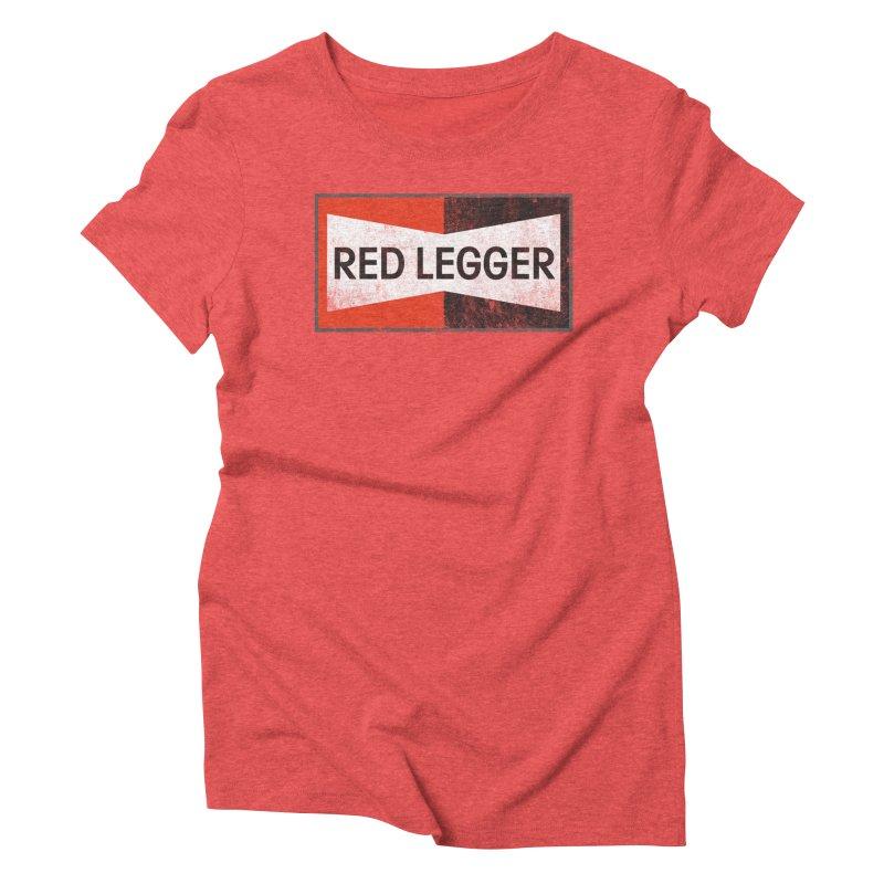 Red Legger Champion Women's T-Shirt by redleggerstudio's Shop