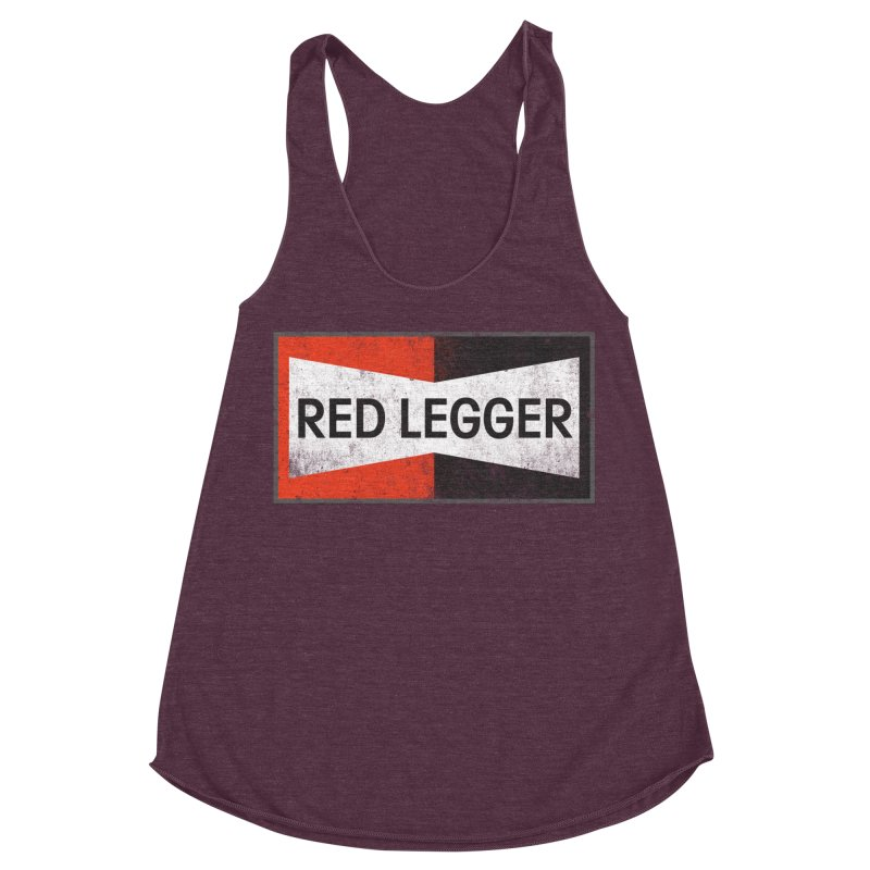 Red Legger Champion Women's Racerback Triblend Tank by redleggerstudio's Shop