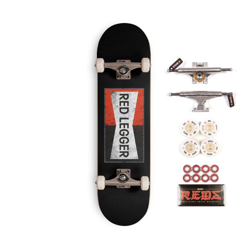 Red Legger Champion Accessories Complete - Pro Skateboard by redleggerstudio's Shop