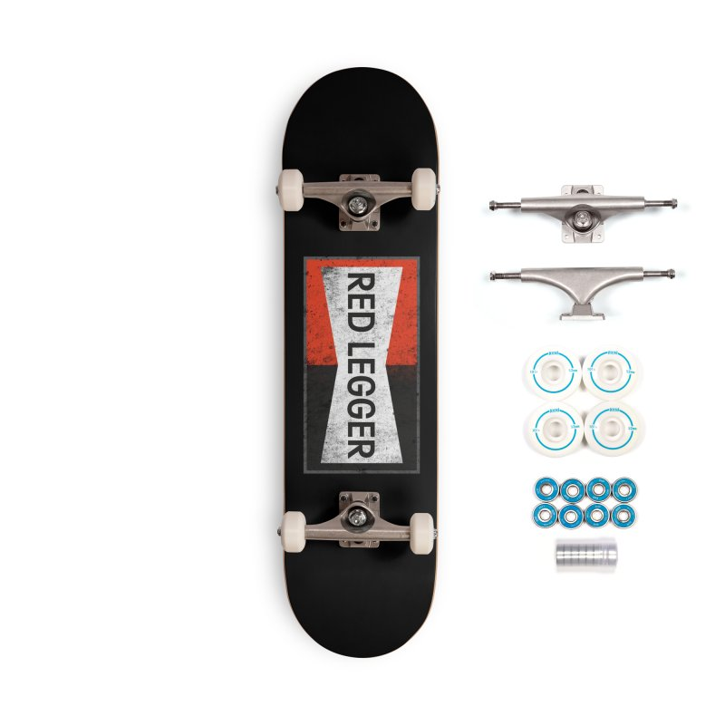 Red Legger Champion Accessories Complete - Basic Skateboard by redleggerstudio's Shop