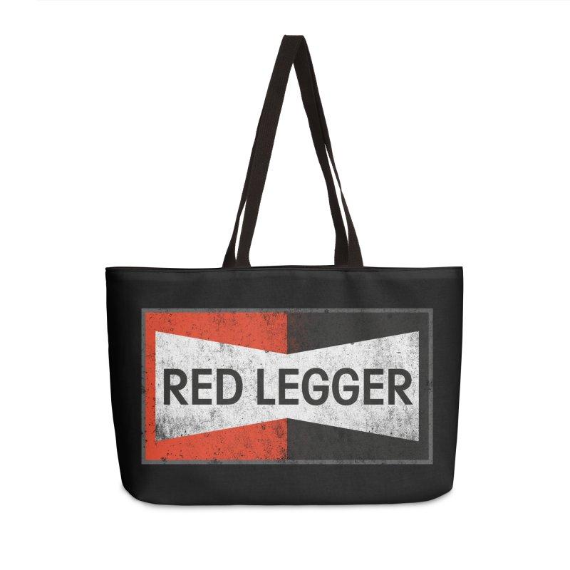 Red Legger Champion Accessories Weekender Bag Bag by redleggerstudio's Shop