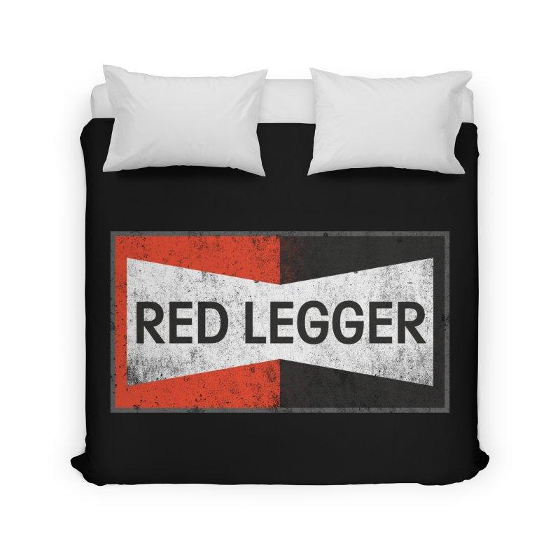Red Legger Champion Home Duvet by redleggerstudio's Shop