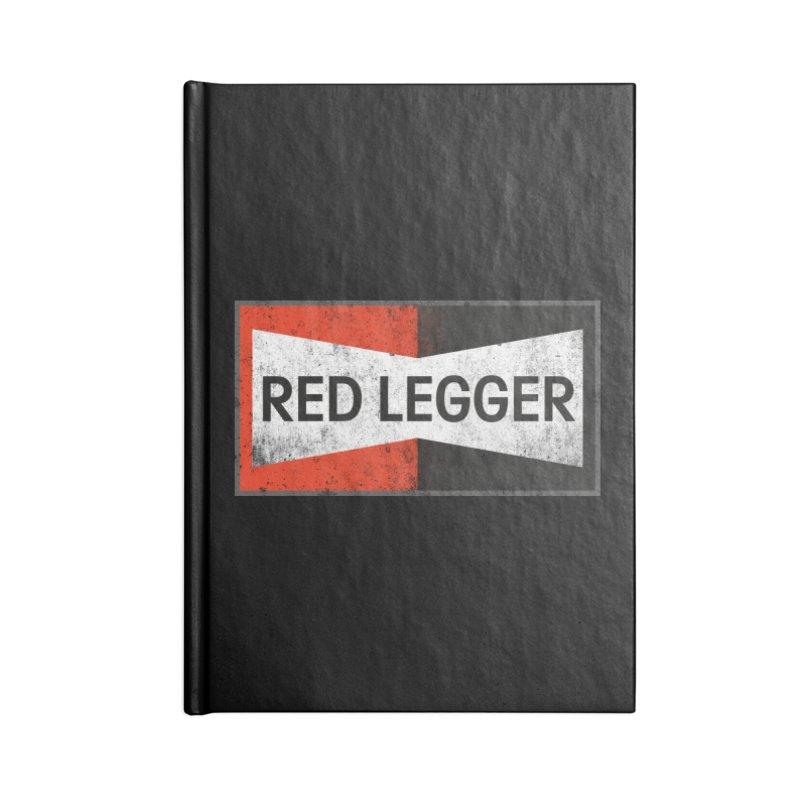 Red Legger Champion Accessories Blank Journal Notebook by redleggerstudio's Shop