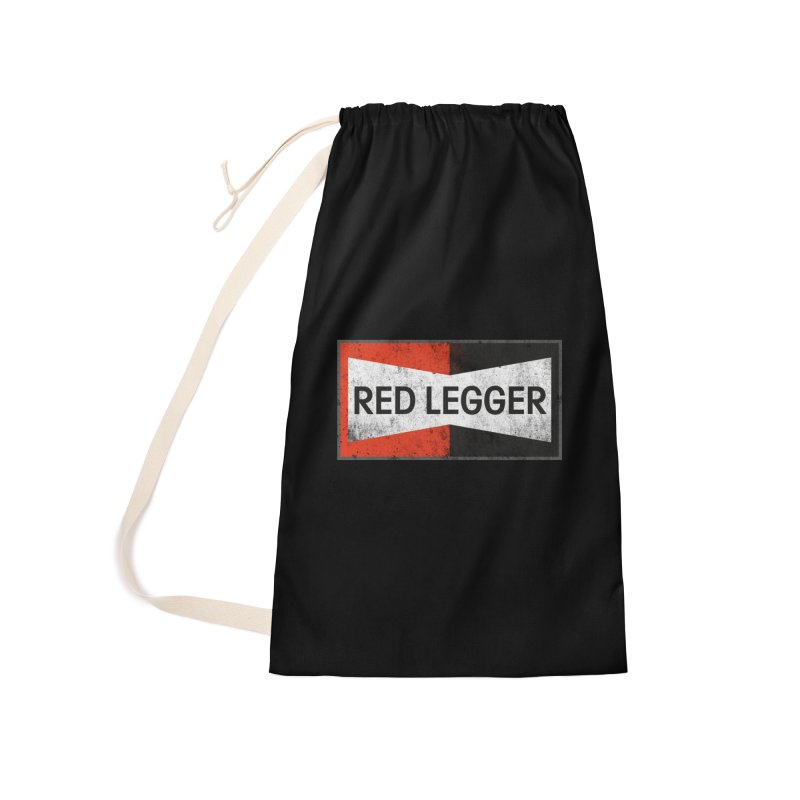 Red Legger Champion Accessories Laundry Bag Bag by redleggerstudio's Shop