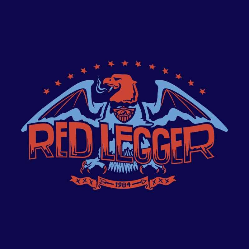 RED LEGGER SMOKIN' EAGLE   by redleggerstudio's Shop