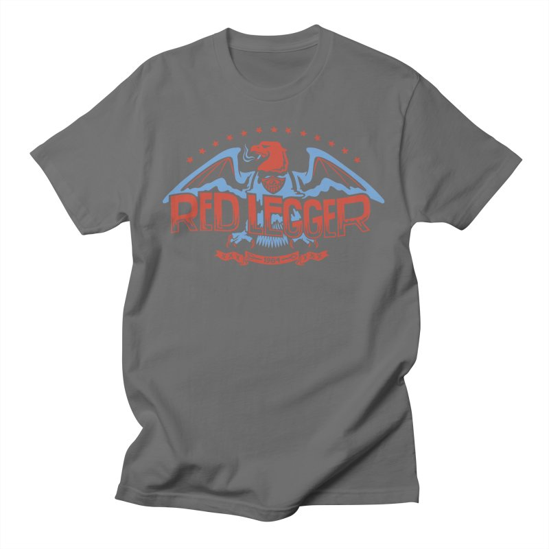 RED LEGGER SMOKIN' EAGLE Men's T-Shirt by redleggerstudio's Shop