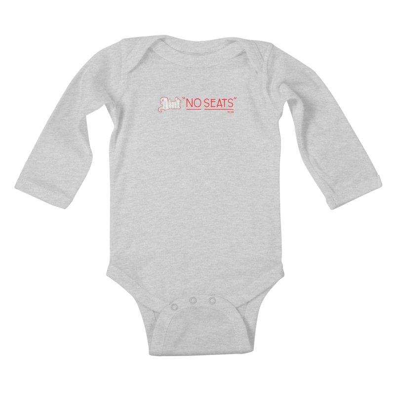 Ain't No Seats 2 Kids Baby Longsleeve Bodysuit by redleggerstudio's Shop