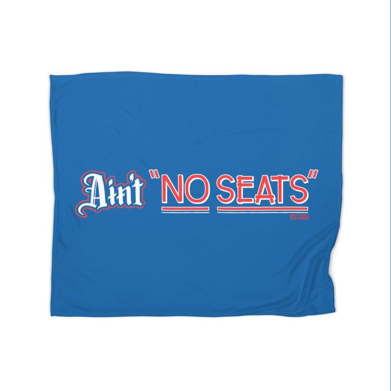 Ain't No Seats 2 Home Fleece Blanket Blanket by redleggerstudio's Shop
