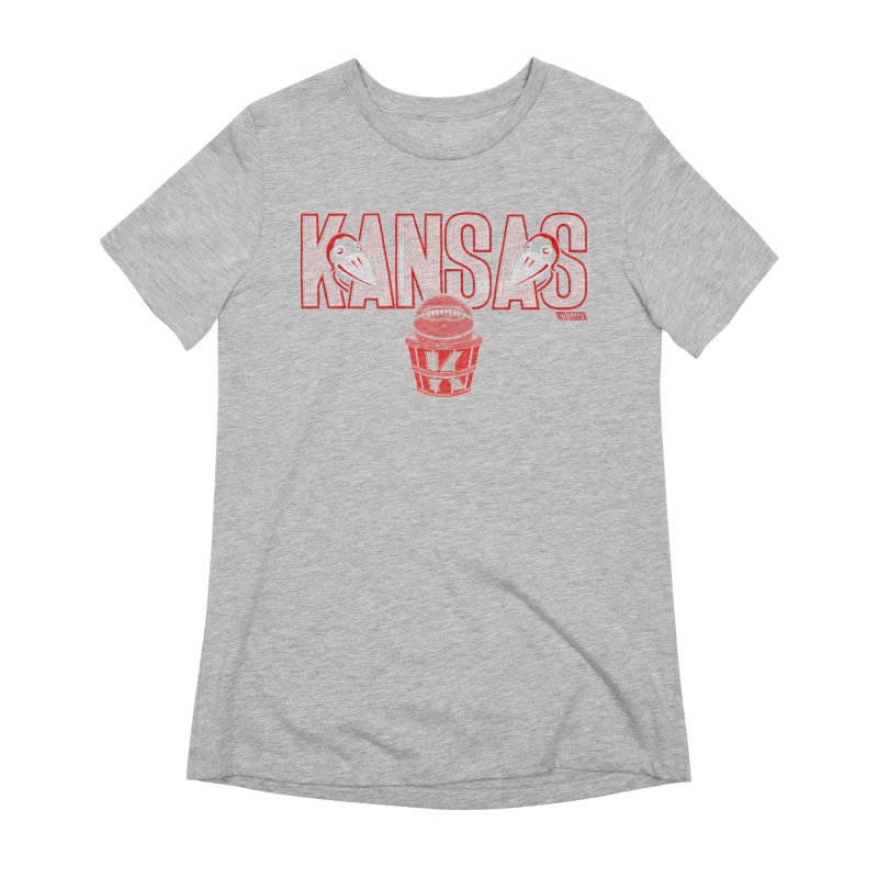 Peach Basket Birdies Women's Extra Soft T-Shirt by redleggerstudio's Shop