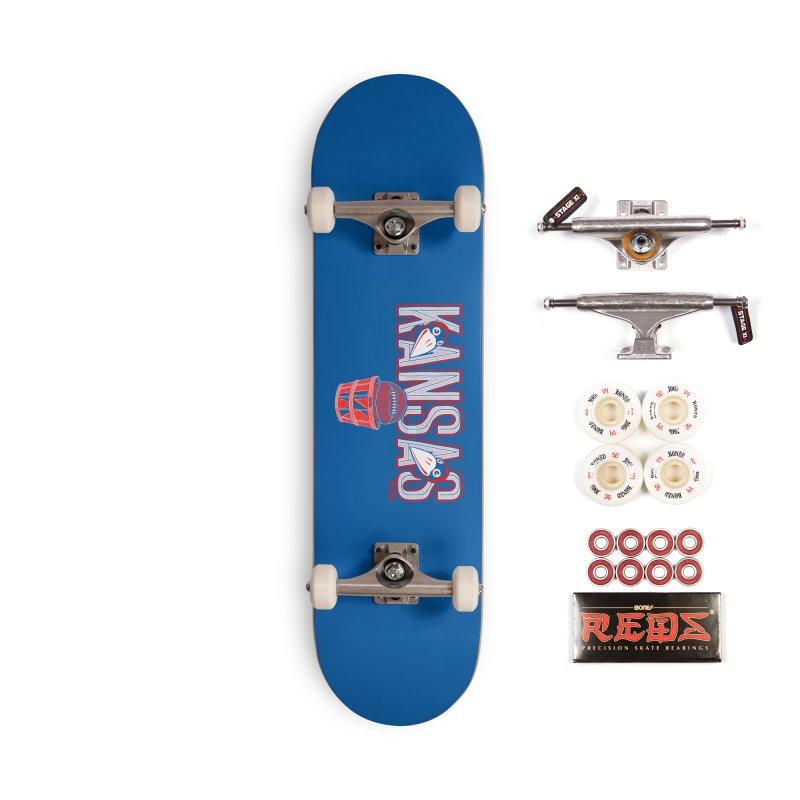 Peach Basket Birdies Accessories Complete - Pro Skateboard by redleggerstudio's Shop