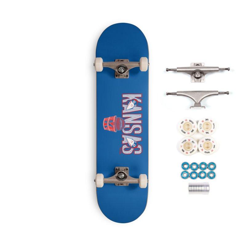 Peach Basket Birdies Accessories Complete - Premium Skateboard by redleggerstudio's Shop