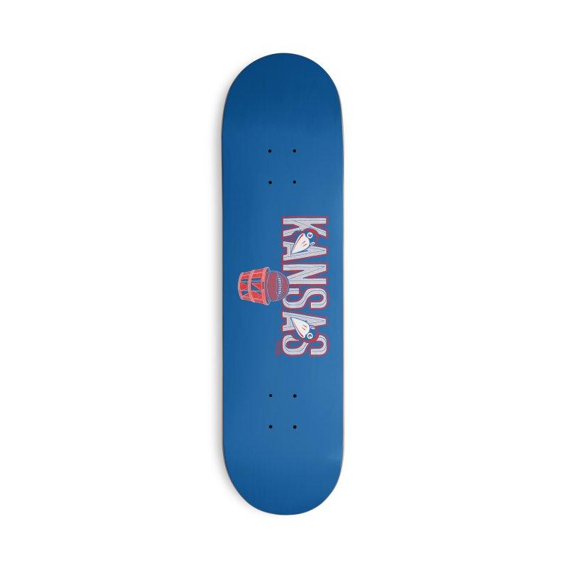 Peach Basket Birdies Accessories Skateboard by redleggerstudio's Shop