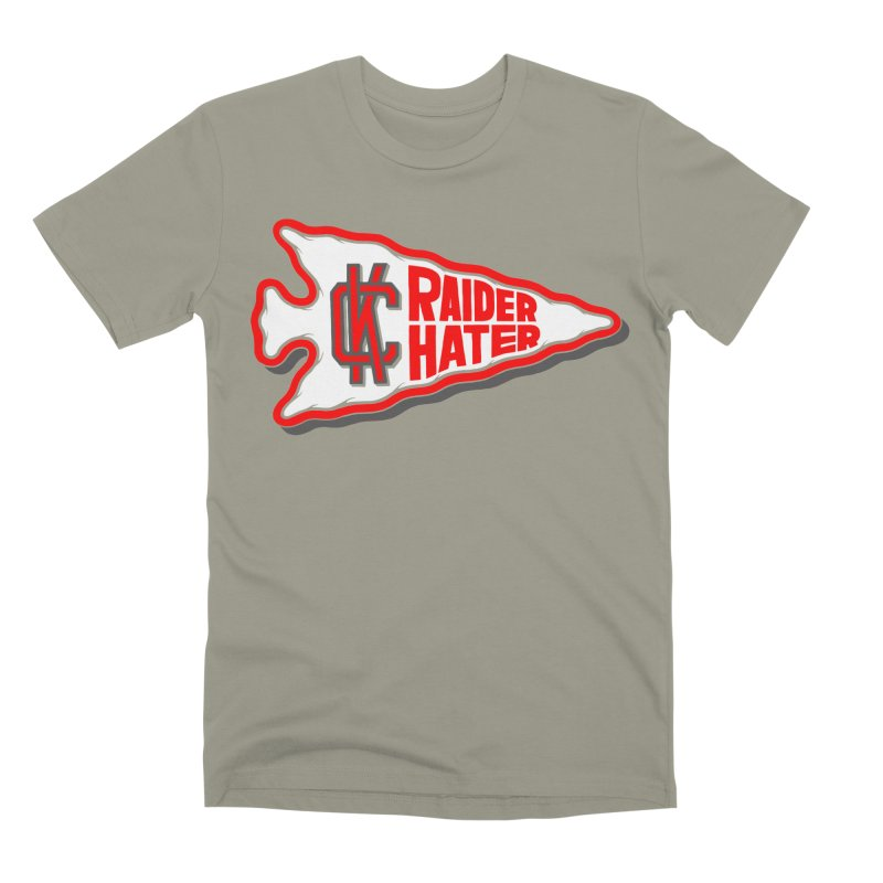 Raider Hater No. 1 Men's Premium T-Shirt by redleggerstudio's Shop