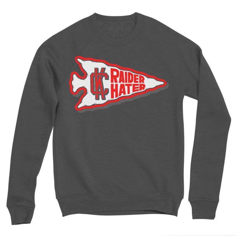 Raider Hater No. 1 Women's Sponge Fleece Sweatshirt by redleggerstudio's Shop