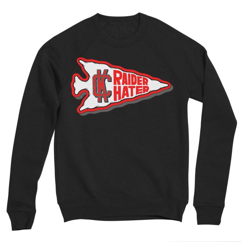 Raider Hater No. 1 Men's Sponge Fleece Sweatshirt by redleggerstudio's Shop