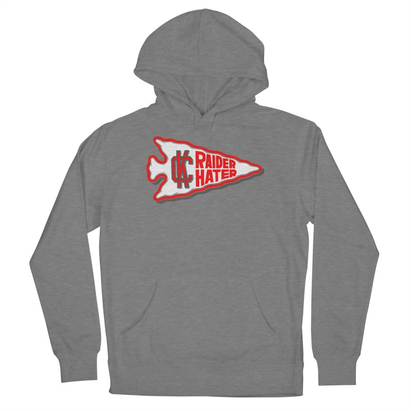 Raider Hater No. 1 Women's French Terry Pullover Hoody by redleggerstudio's Shop