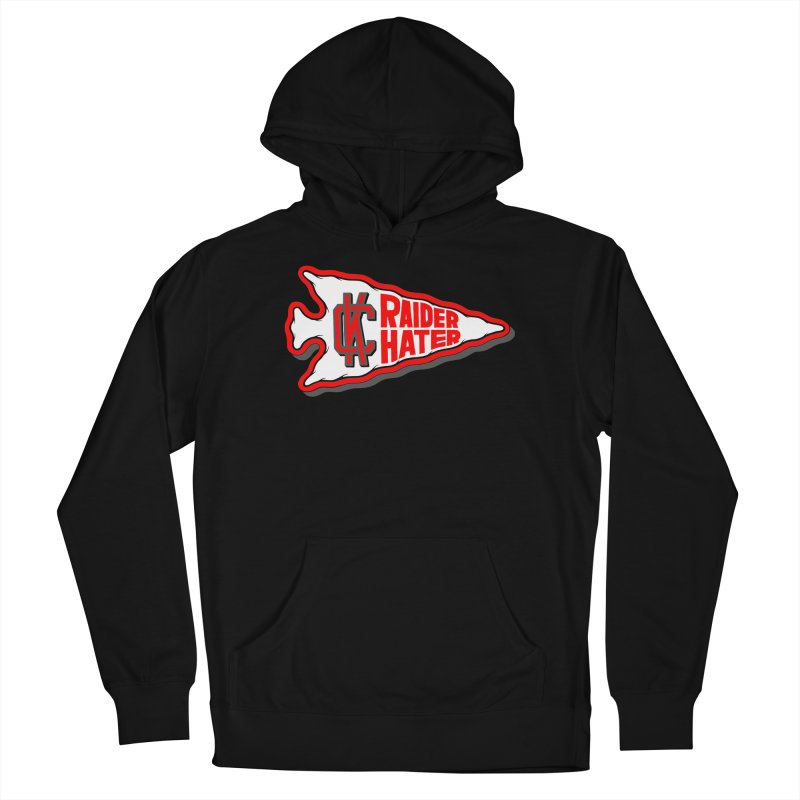 Raider Hater No. 1 Men's French Terry Pullover Hoody by redleggerstudio's Shop