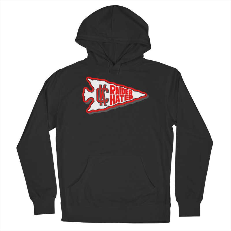 Raider Hater No. 1 Men's Pullover Hoody by redleggerstudio's Shop
