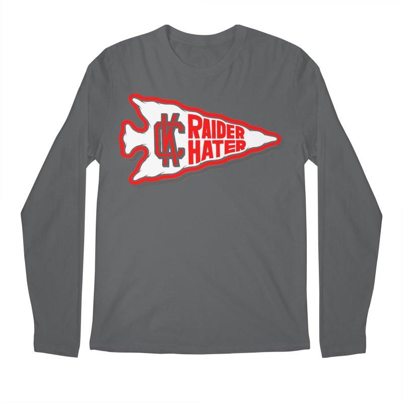 Raider Hater No. 1 Men's Regular Longsleeve T-Shirt by redleggerstudio's Shop