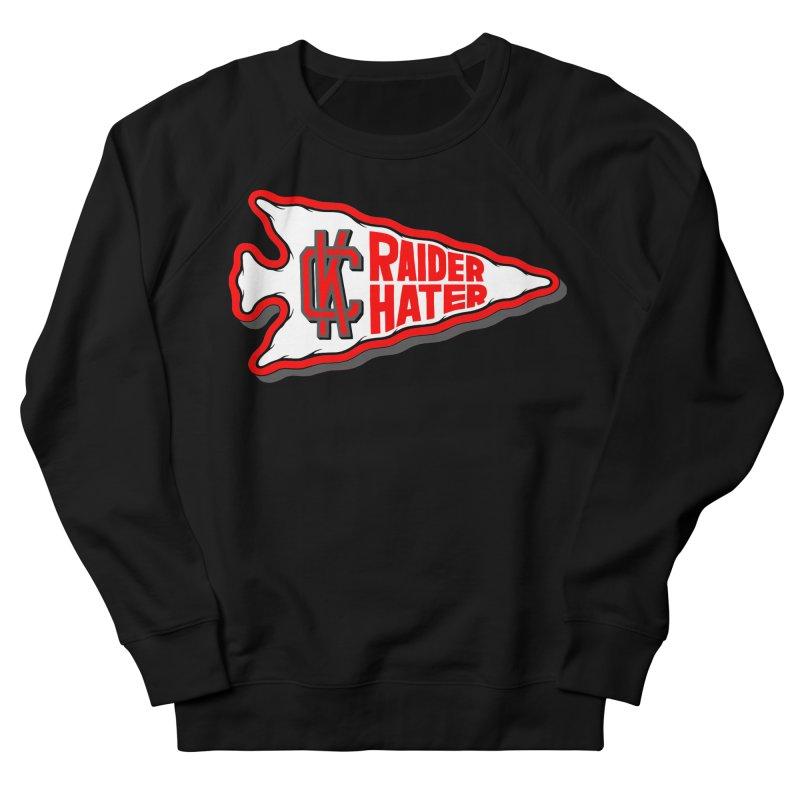 Raider Hater No. 1 Women's French Terry Sweatshirt by redleggerstudio's Shop