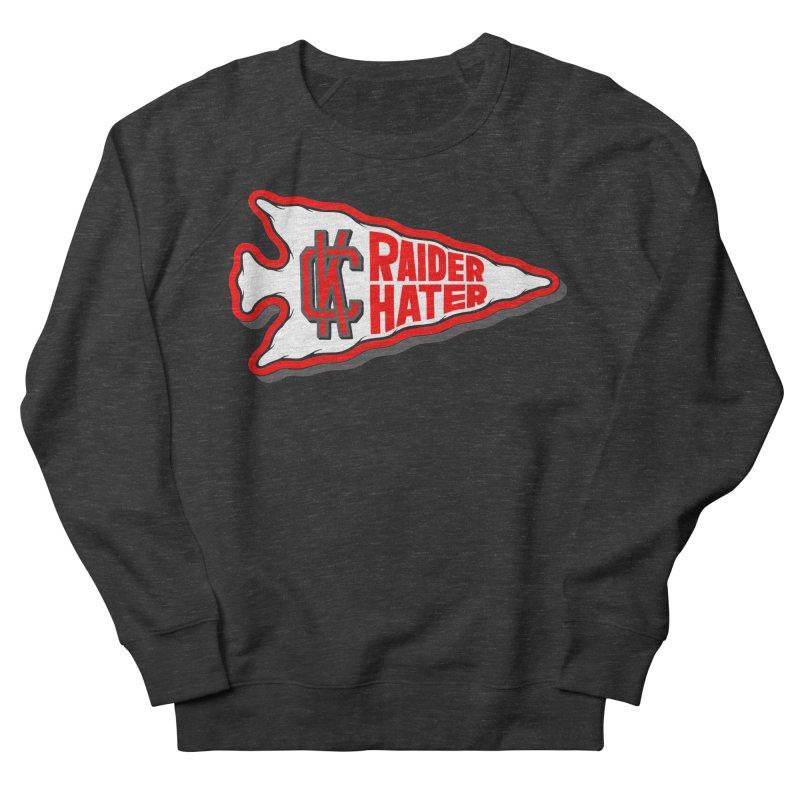 Raider Hater No. 1 Men's French Terry Sweatshirt by redleggerstudio's Shop
