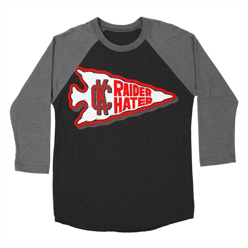 Raider Hater No. 1 Women's Baseball Triblend Longsleeve T-Shirt by redleggerstudio's Shop