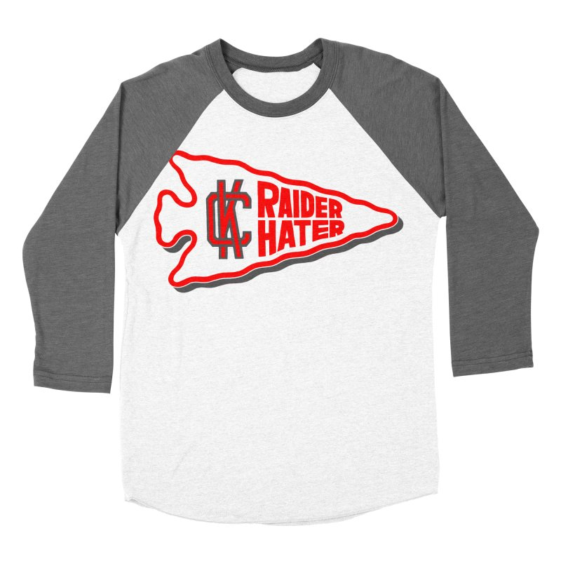 Raider Hater No. 1 Men's Baseball Triblend Longsleeve T-Shirt by redleggerstudio's Shop