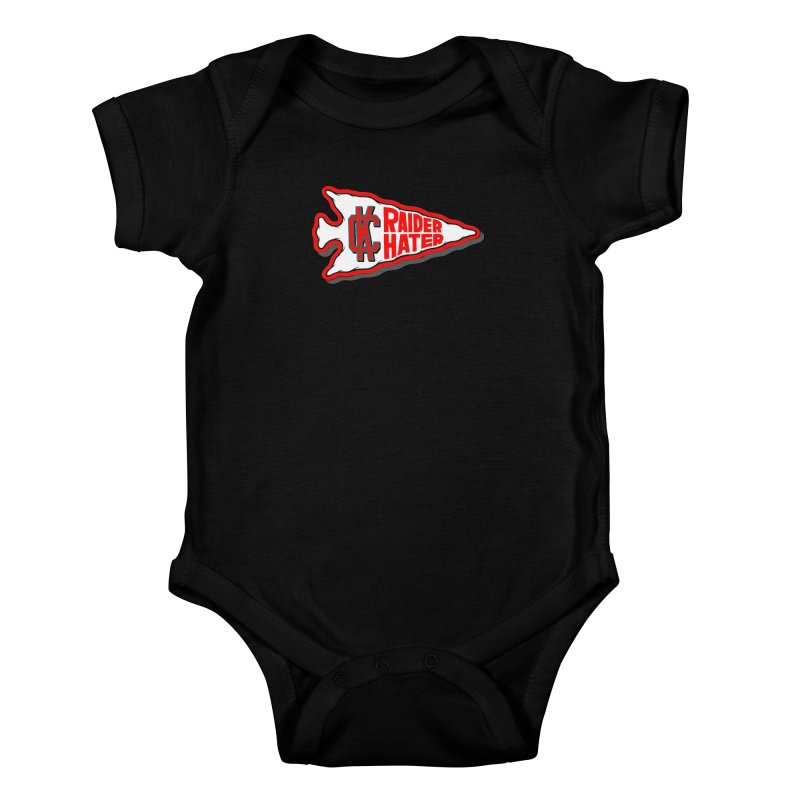 Raider Hater No. 1 Kids Baby Bodysuit by redleggerstudio's Shop