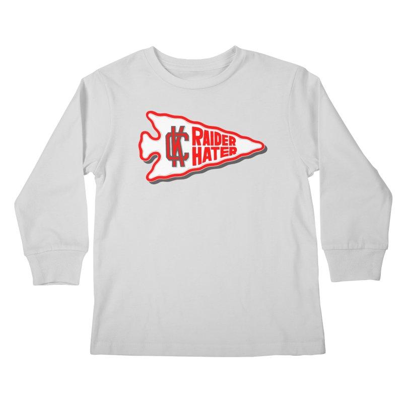 Raider Hater No. 1 Kids Longsleeve T-Shirt by redleggerstudio's Shop