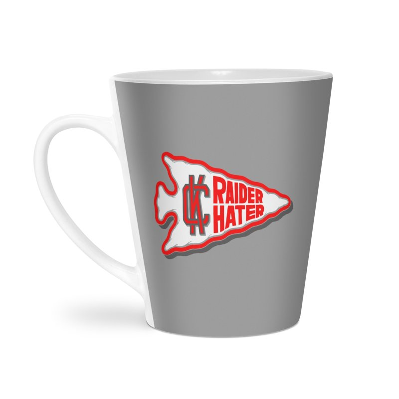 Raider Hater No. 1 Accessories Latte Mug by redleggerstudio's Shop
