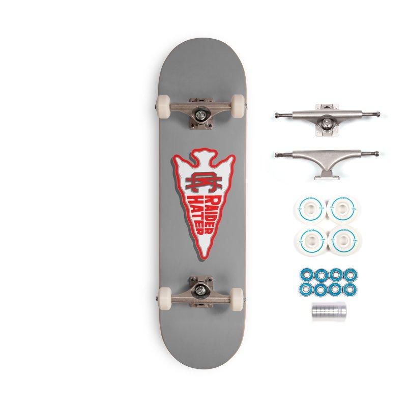 Raider Hater No. 1 Accessories Complete - Basic Skateboard by redleggerstudio's Shop