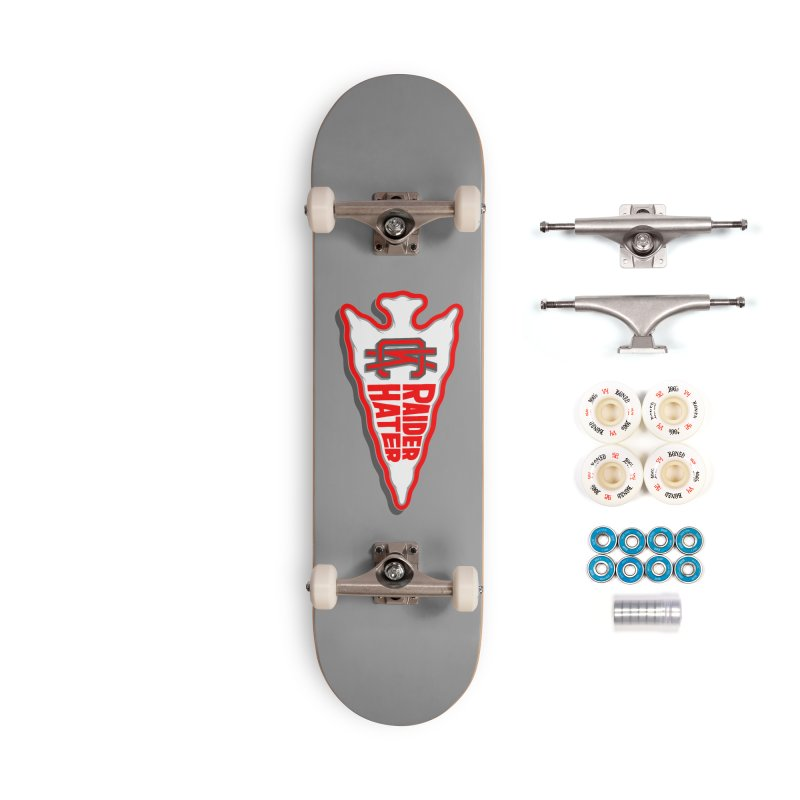 Raider Hater No. 1 Accessories Complete - Premium Skateboard by redleggerstudio's Shop
