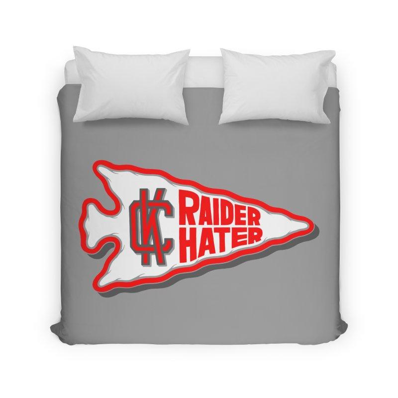 Raider Hater No. 1 Home Duvet by redleggerstudio's Shop