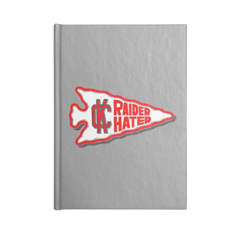 Raider Hater No. 1 Accessories Blank Journal Notebook by redleggerstudio's Shop