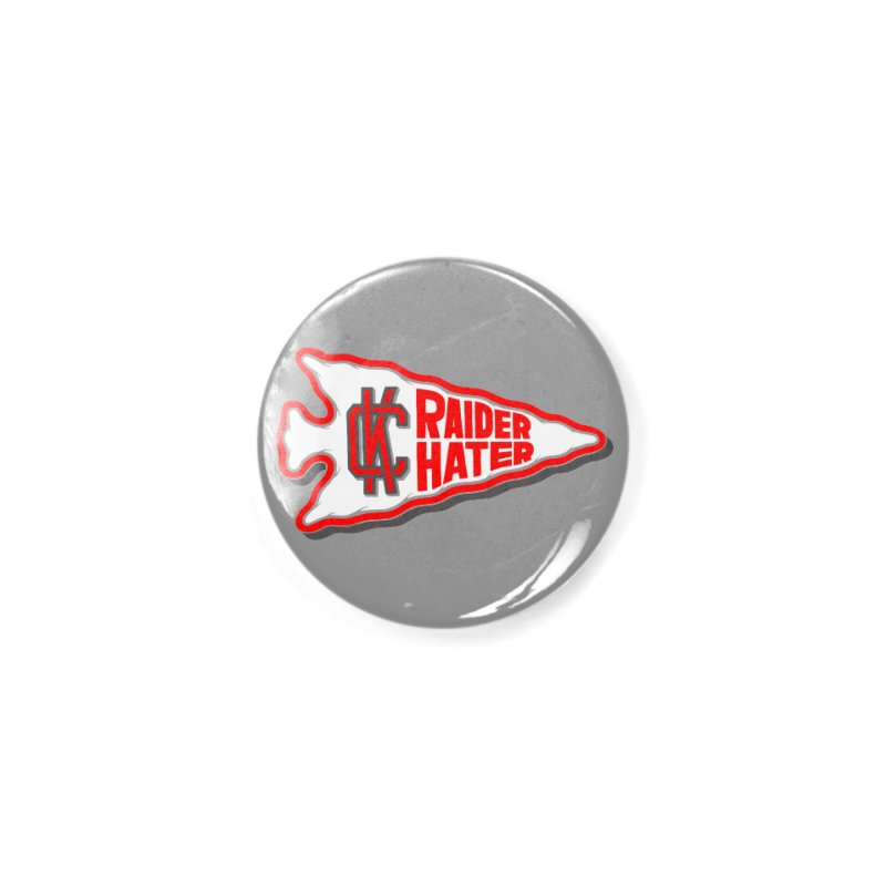 Raider Hater No. 1 Accessories Button by redleggerstudio's Shop
