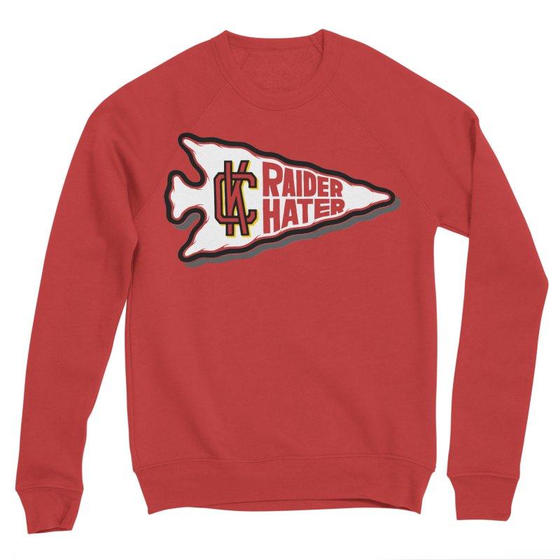 Raider Hater No. 2 Men's Sponge Fleece Sweatshirt by redleggerstudio's Shop