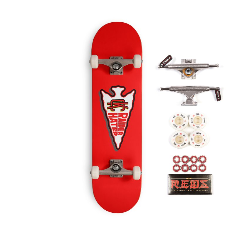 Raider Hater No. 2 Accessories Complete - Pro Skateboard by redleggerstudio's Shop