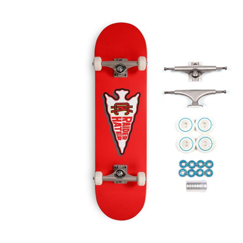 Raider Hater No. 2 Accessories Complete - Basic Skateboard by redleggerstudio's Shop