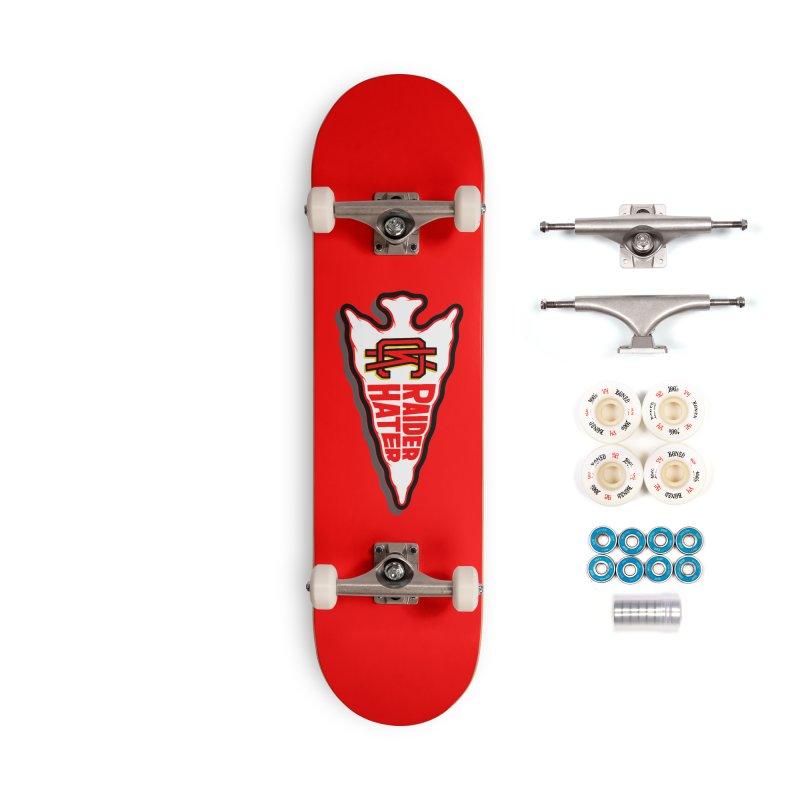 Raider Hater No. 2 Accessories Complete - Premium Skateboard by redleggerstudio's Shop