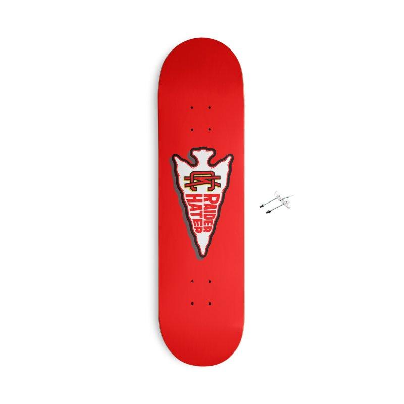Raider Hater No. 2 Accessories Skateboard by redleggerstudio's Shop