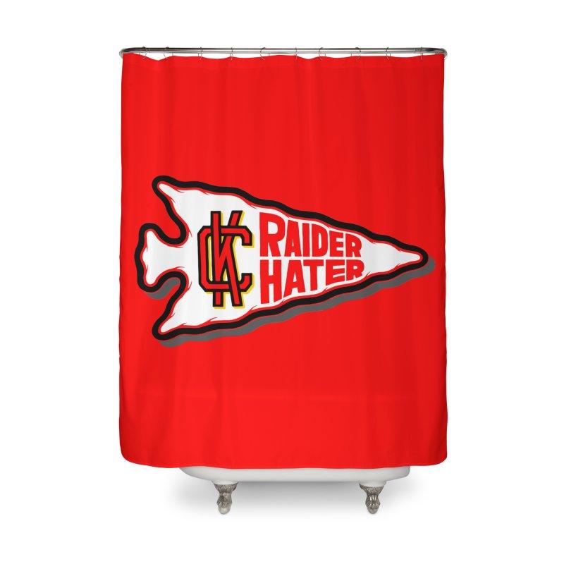Raider Hater No. 2 Home Shower Curtain by redleggerstudio's Shop